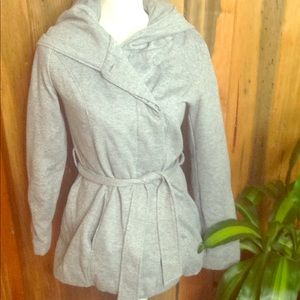Paper tee button down jacket  with pockets small